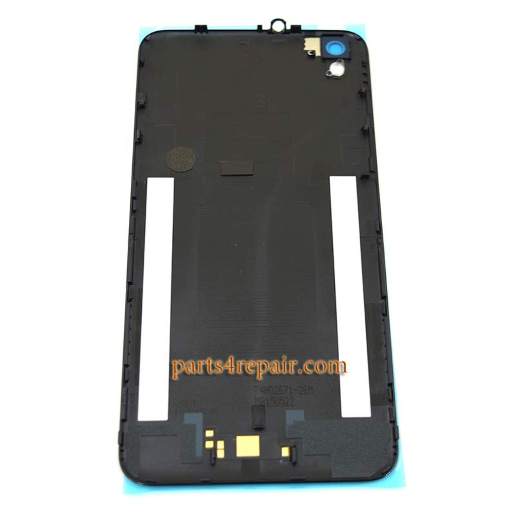 huge discount cb15a 1d256 Back Cover for HTC Desire 816 -Black