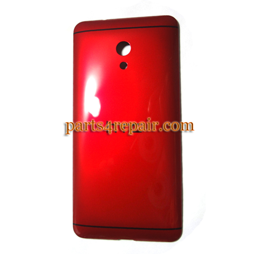 Back Cover for HTC Desire 700 -Red from www.parts4repair.com