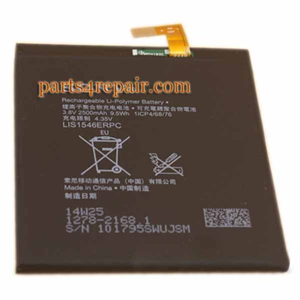 We can offer Built-in Battery 2500mAh for Sony Xperia C3 T3