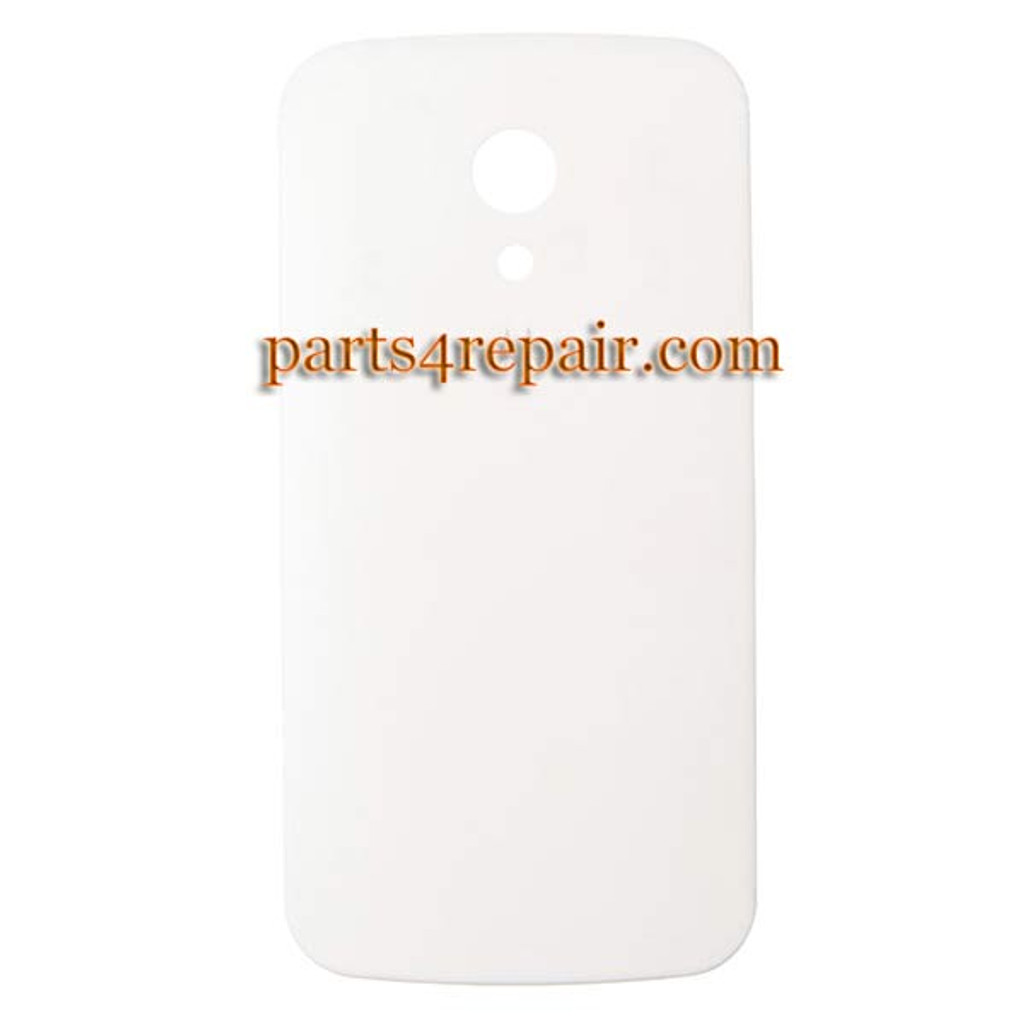 Back Cover for Motorola Moto G2 -White from www.parts4repair.com