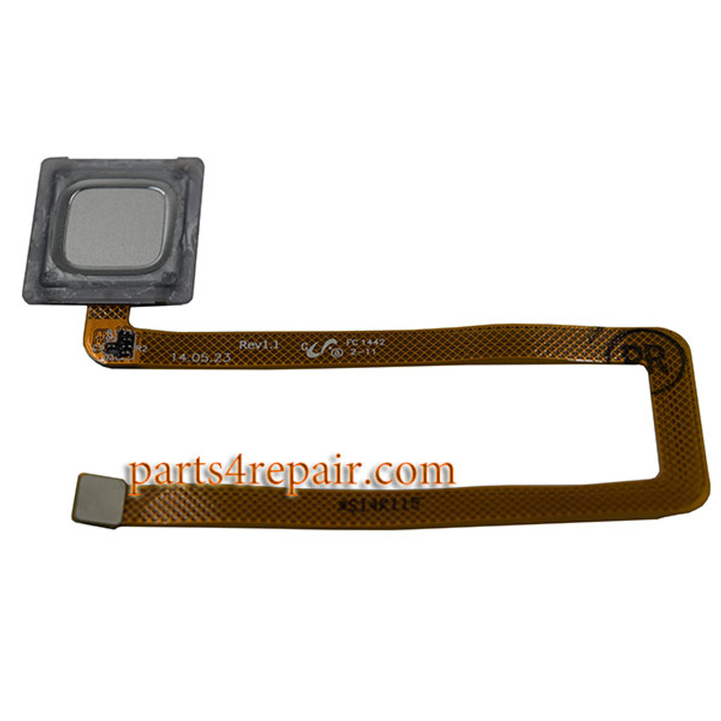 Fingerprint Sensor Flex Cable for Huawei Ascend Mate 7 -Silver from www.parts4repair.com