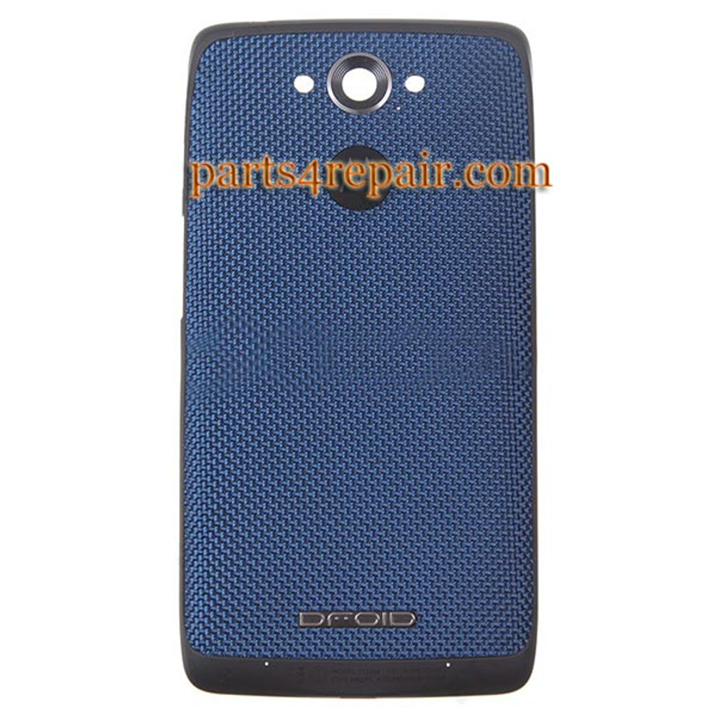 low priced 5bce5 8ba23 Back Cover for Motorola Droid Turbo XT1254 -Blue