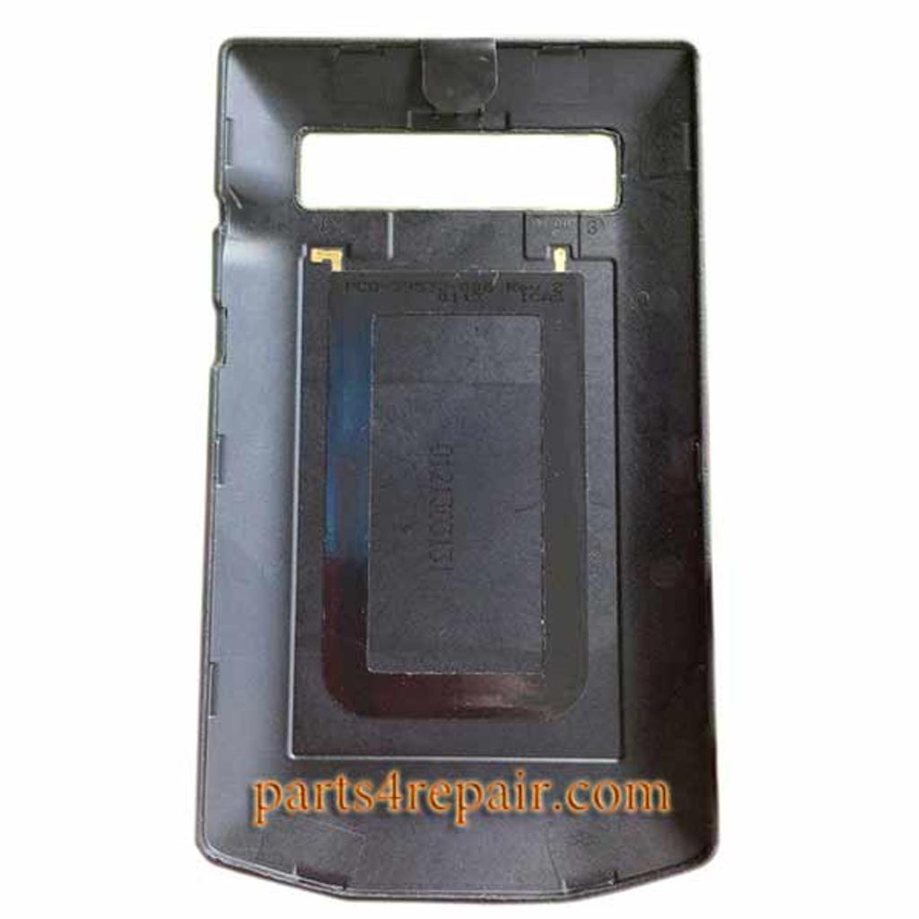 Back Cover with NFC OEM for BlackBerry Porsche Design P9981 -Black