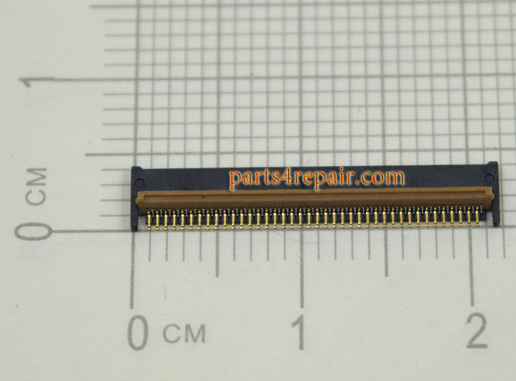 80pin Touch Screen FPC Connector for Samsung P5100 P5200 from www.parts4repair.com