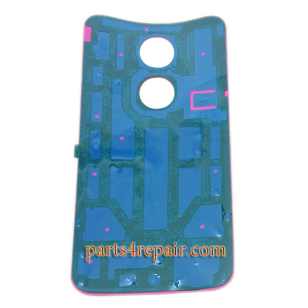 Back Cover with Adhesive for Motorola Moto X2 -Light Blue