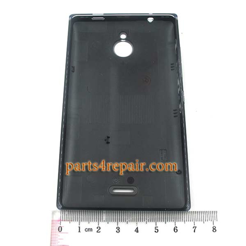 Back Cover with Side Keys for Nokia X2 Dual SIM -Black