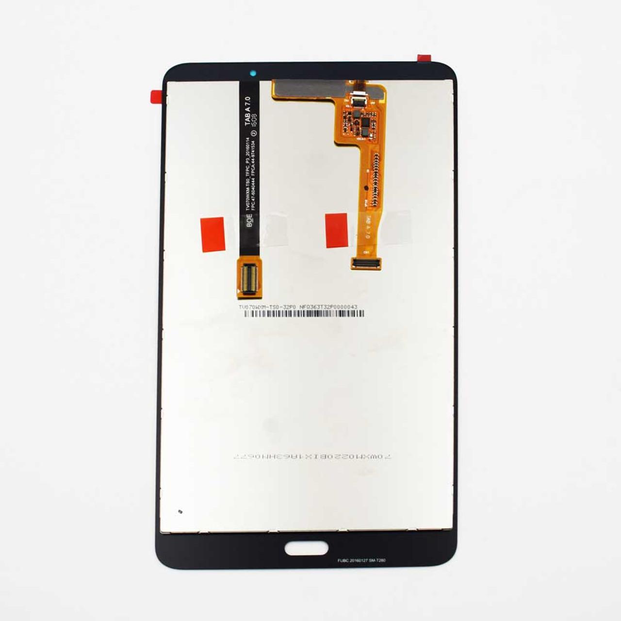 "Samsung Galaxy Tab A 7.0/"" 2016 SM T280 Touch Screen Digitizer+LCD Display WHT"