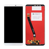 Huawei Y9 2018 LCD Screen and Digitizer Assembly White