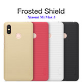Frosted Shield Hard Back Case for Xiaomi Mi Max 3