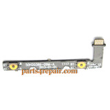HTC Sensation Voulme Flex Cable from www.parts4repair.com