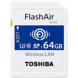 Toshiba FlashAir WIFI WIRELESS SDHC 64GB Class 10 Flash Memory from www.parts4repair.com