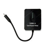 5 in 1 USB OTG Mobile Card Reader for Samsung N7000/I9100/I9300/I9250