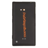 Back Cover for Nokia Lumia 720 -Black from www.parts4repair.com