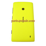Back Cover for Nokia Lumia 520 -Yellow from www.parts4repair.com