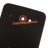 Back Cover for HTC Droid DNA (for Verizon) -Black