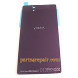 We can offer Back Cover for Sony Xperia Z L36H -Purple