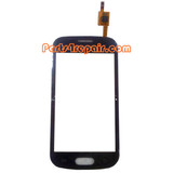 Touch Screen Digitizer for Samsung Galaxy Trend II Duos S7572 -Black from www.parts4repair.com