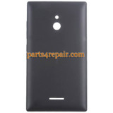 Back Cover for Nokia XL -Black from www.parts4repair.com