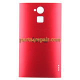 Back Cover for HTC One Max -Red from www.parts4repair.com