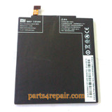 Built-in Battery 3050mAh for Xiaomi M3 from www.parts4repair.com