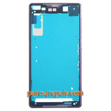 LCD Plate for Sony Xperia Z2 -Purple from www.parts4repair.com