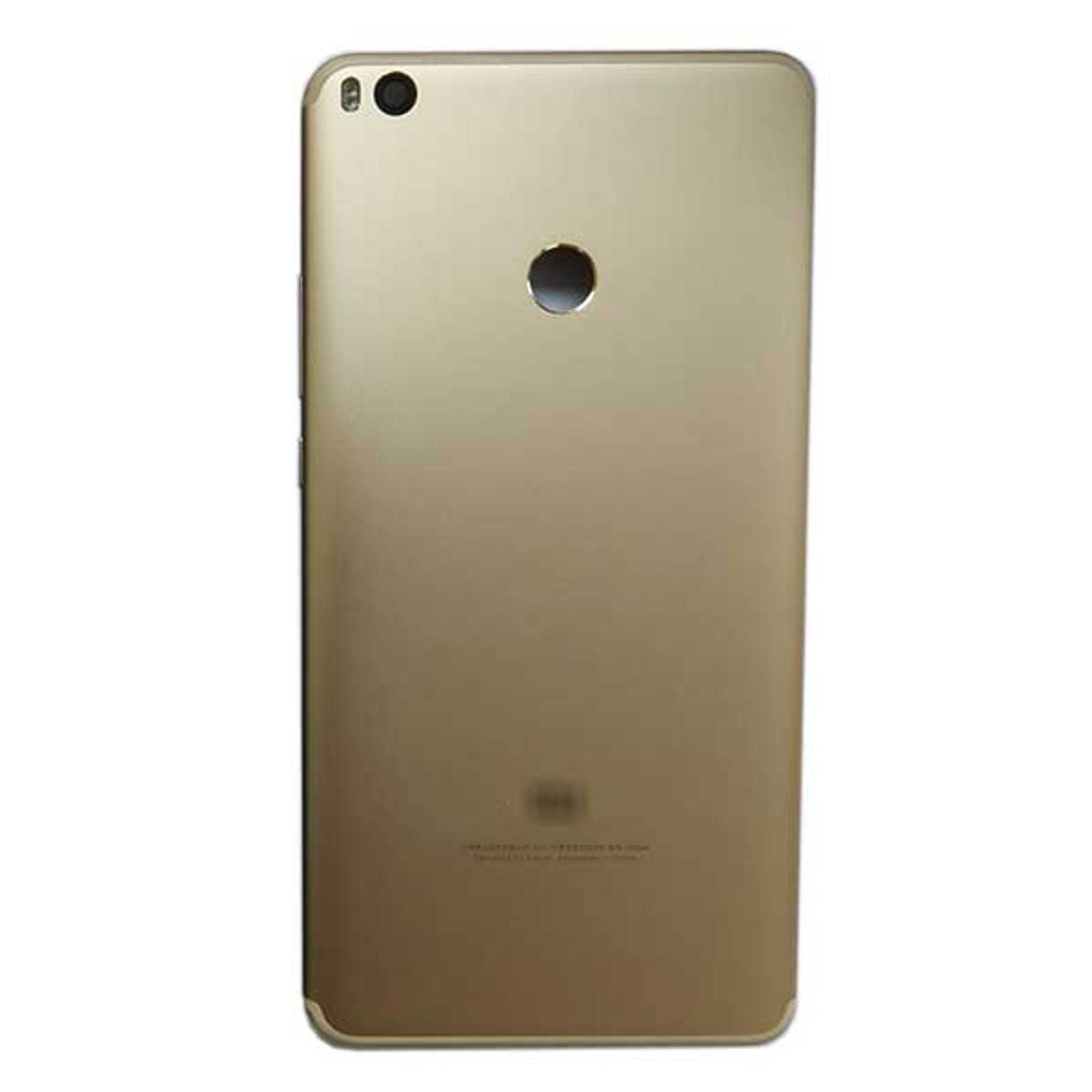 uk availability 8d928 10968 Back Cover with Side Keys for Xiaomi Mi Max 2 -Gold