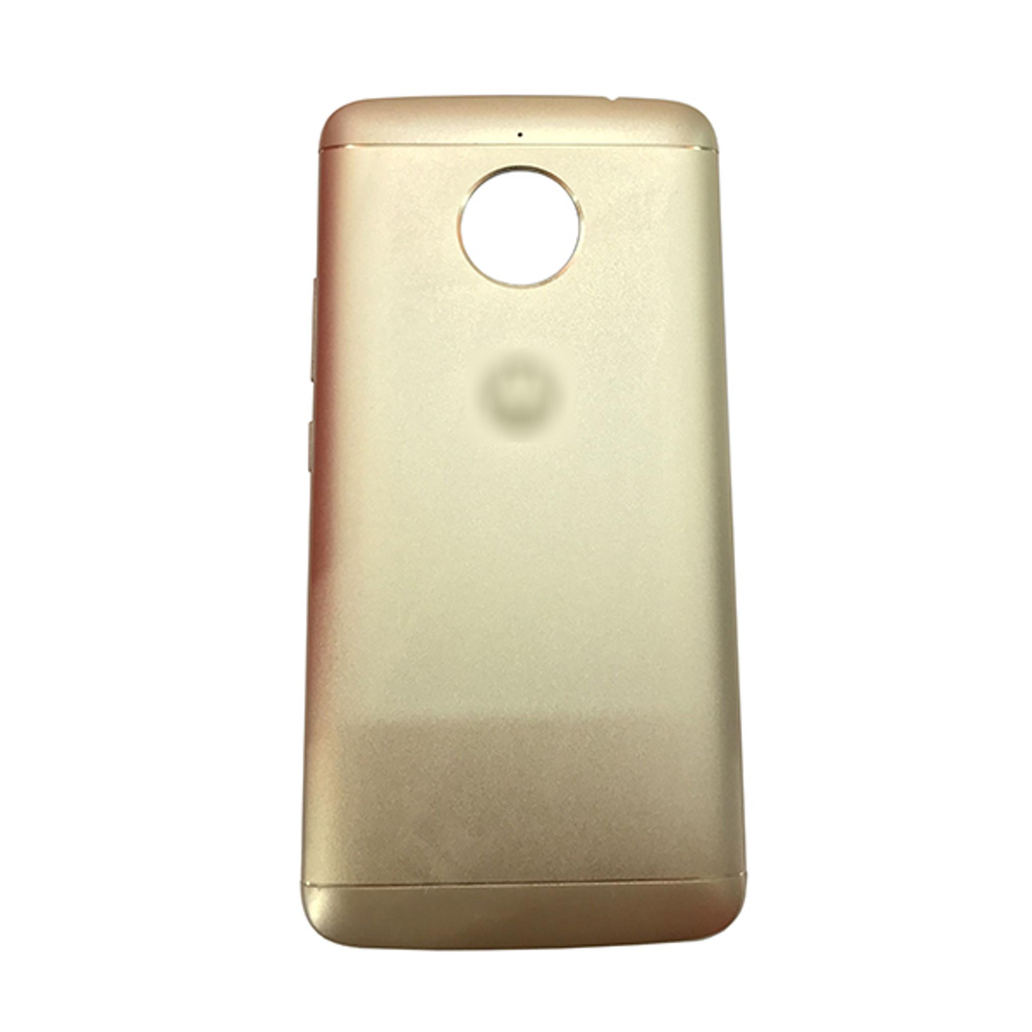 cheaper a4ada e9ceb Back Cover with Side Keys for Motorola Moto E4 Plus -Gold
