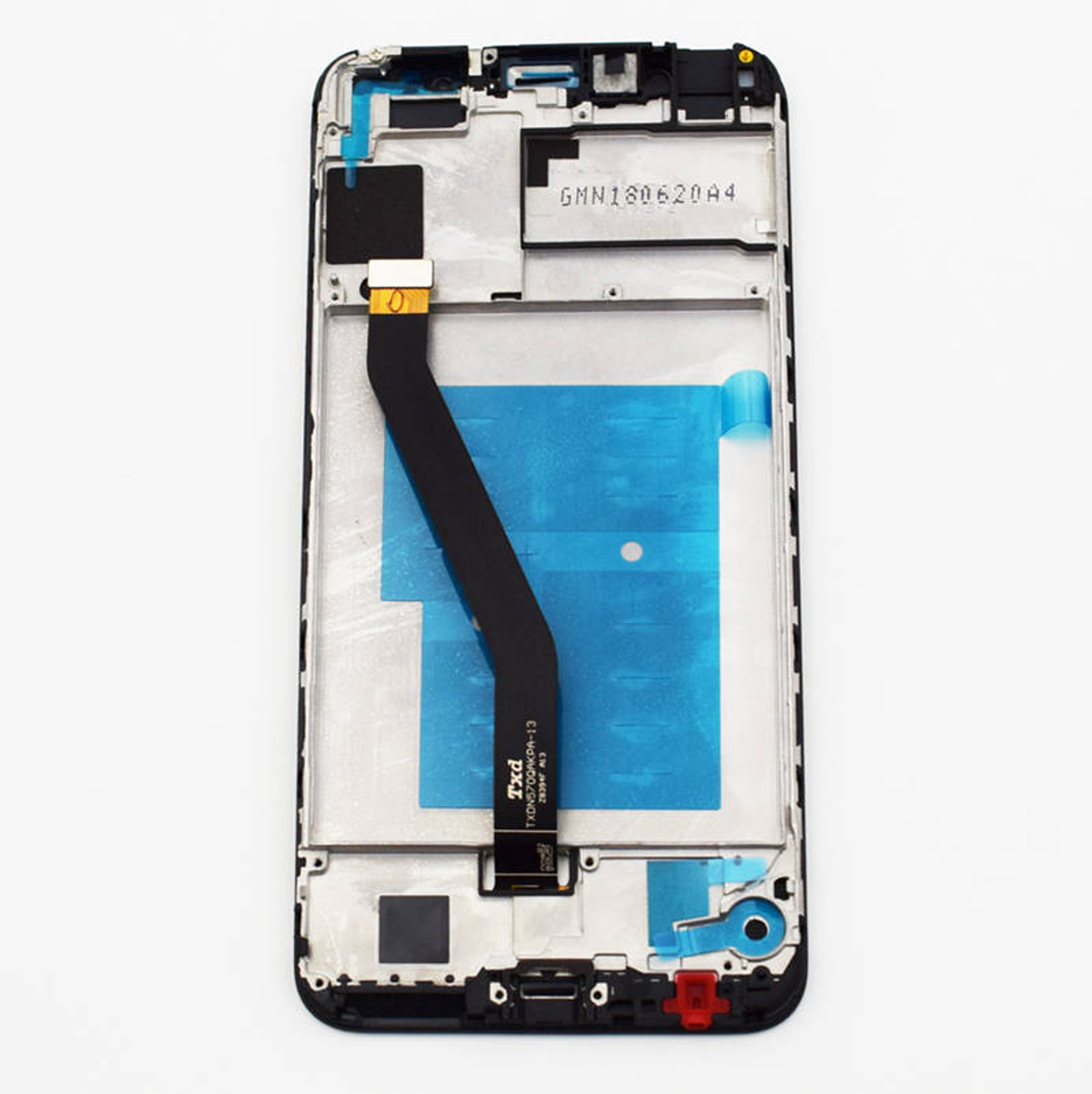 Huawei Y6 2018 LCD Screen and Digitizer Assembly with Frame + Tools -Black