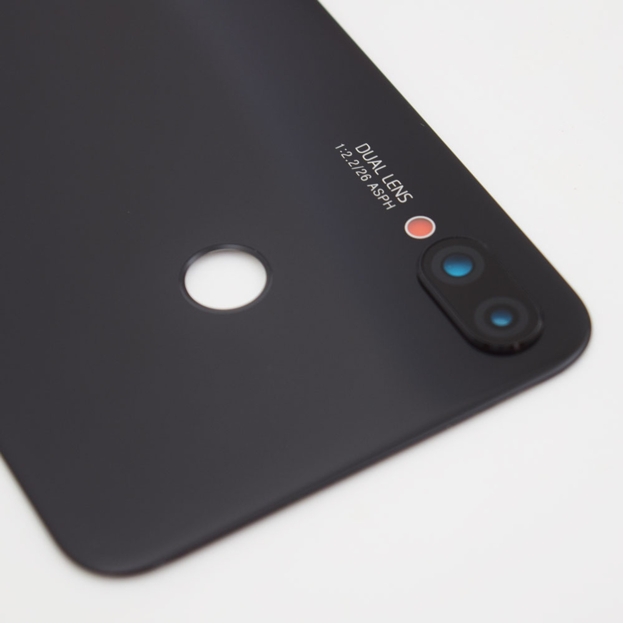Huawei Nova 3i Back Glass with Camera Lens -Black