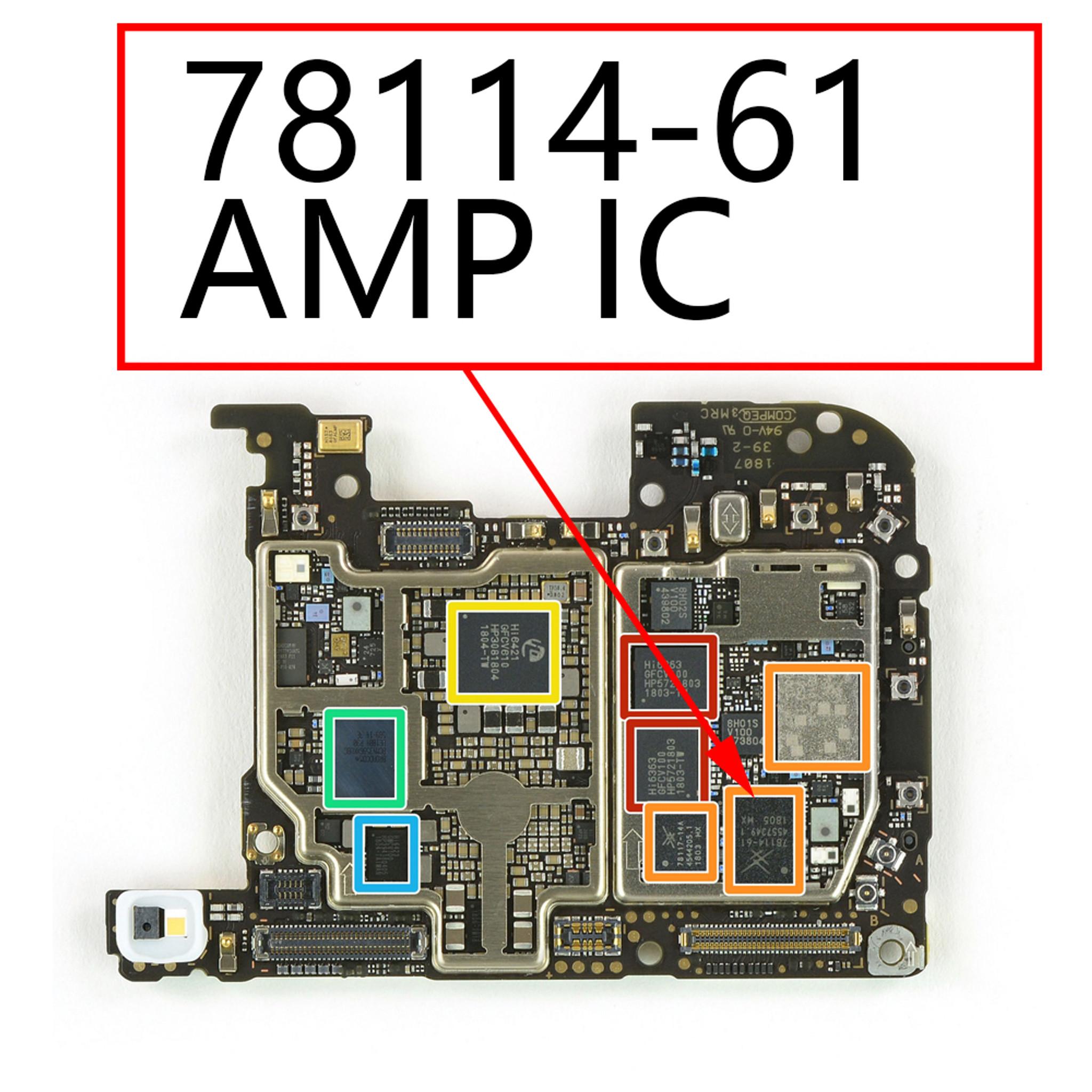 Huawei P20 Pro AMP IC 78114-61