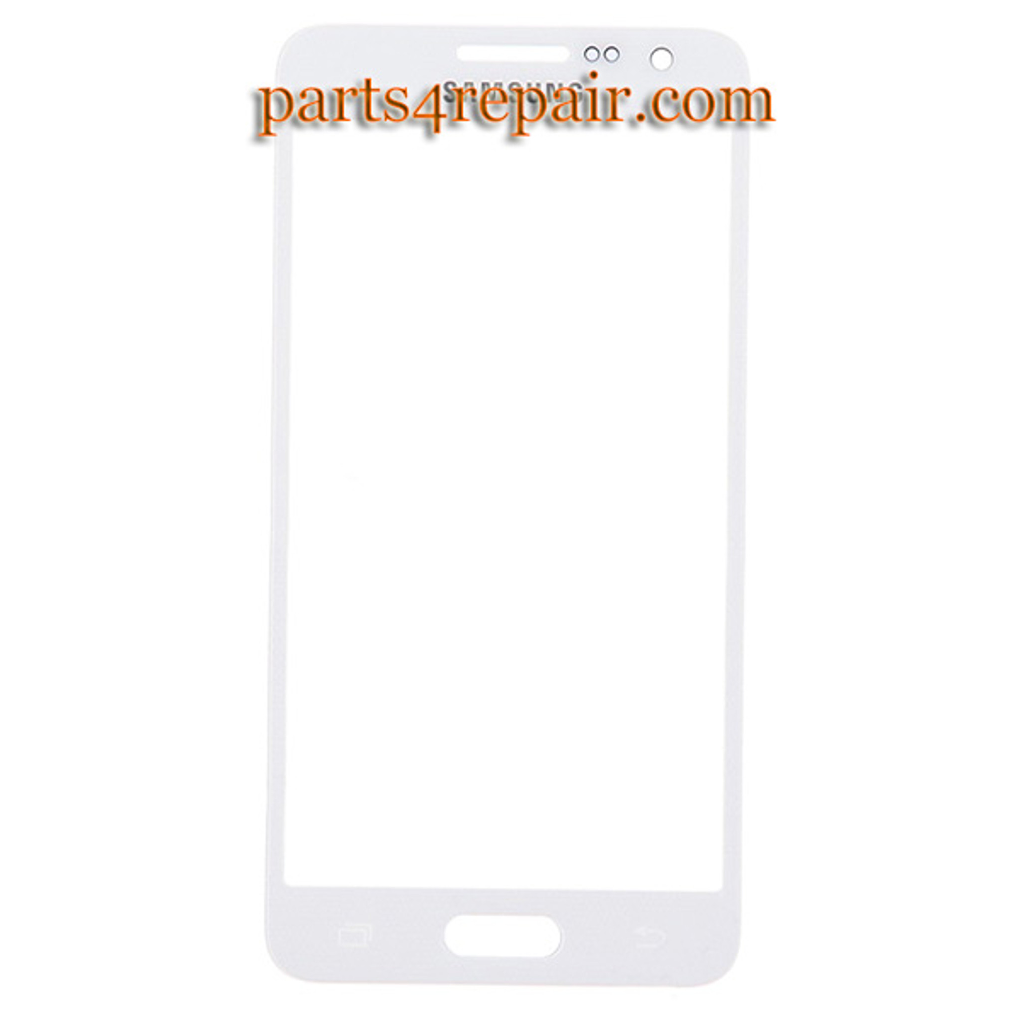 Generic Front Glass for Samsung Galaxy E5 SM-E500 -White