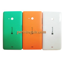Back Cover with Side Keys for Microsoft Lumia 540 Dual SIM -White