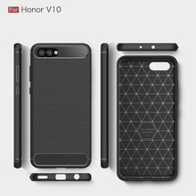 Carbon Fiber TPU Protector Case for Huawei Honor View 10
