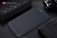 The Blue Carbon Fiber Case for Huawei Honor V10