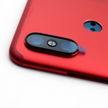 Back Housing Cover with Side Keys for Xiaomi Mi A2 (Mi 6X) -Red