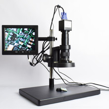 "2 Megapixel VGA Camera USB Microscope with 6"" Display"