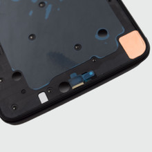Front Housing Cover for Oneplus 6 -Midnight Black