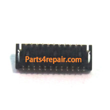 23pin LCD Display Flex FPC Connector for HTC Sensation / Sensation XE
