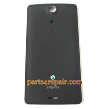 Sony Xperia TX LT29i Back Cover -Black from www.parts4repair.com