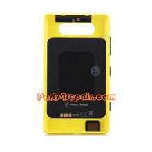 Back Cover with NFC for Nokia Lumia 820 -Yellow