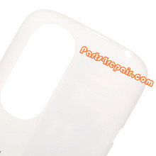 Back Cover for HTC Desire X T328E -White