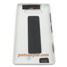 Back Cover without NFC for Nokia Lumia 820 -White