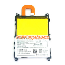 Built-in Battery for Sony Xperia Z1 L39H from www.parts4repair.com