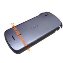 Back Cover for Sony Ericsson Xperia Pro MK16I -Silver from www.parts4repair.com