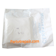 "150pcs 6""*6"" Soft Sub Microfiber Dustless Cloth Clean Room Wiper"