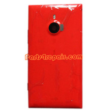Back Housing Assembly Cover with NFC for Nokia Lumia 1520 -Red from www.parts4repair.com