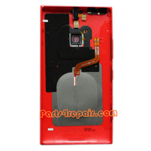 We can offer Back Housing Assembly Cover with NFC for Nokia Lumia 1520 -Red
