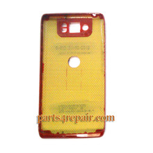 Back Cover for Motorola Droid Ultra XT1080 -Red (Thin Version)