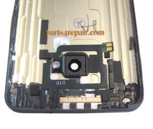 Back Cover for HTC One M7 -Gold