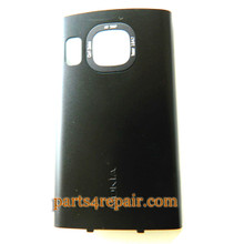 Back Cover for Nokia 6700S -Black from www.parts4repair.com